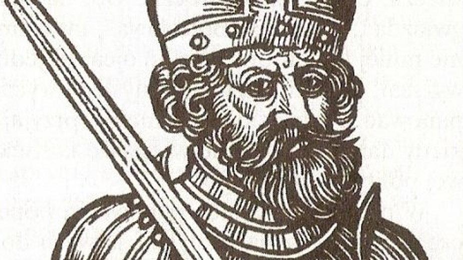 Bezprym na rycinie z XVII w.
