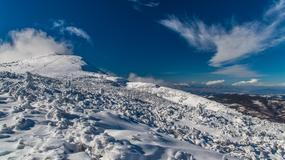 Trudne warunki na szlakach turystycznych w Beskidach