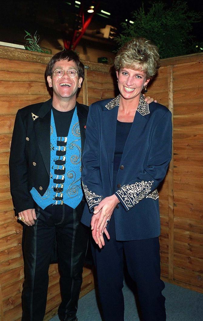Elton Džon i princeza Dajana