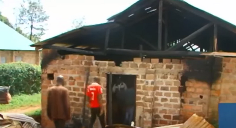 10 arrested over burning of 5 churches in Kisii (Courtesy)