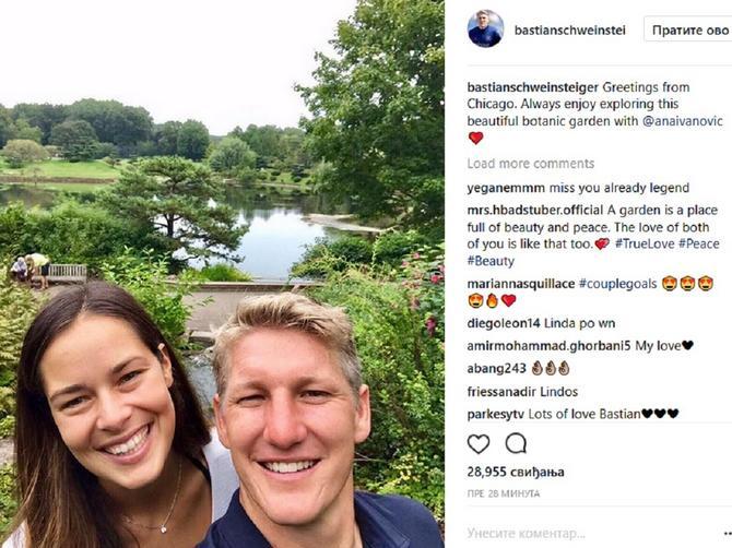 Ana Ivanović je TRUDNA! Ona i Švajni čekaju bebu, a evo i KADA ĆE SE PORODITI