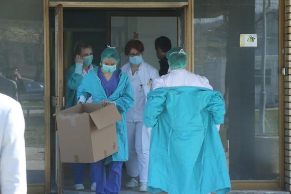 Medicinsko osoblje Klinike za infektivne bolesti