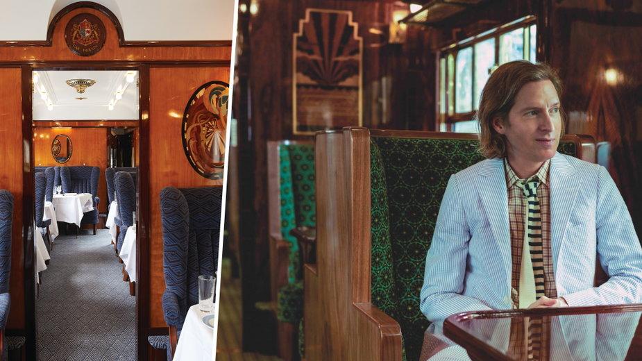 Wes Anderson zaprojektował pociąg