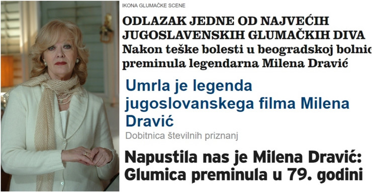 milena dravić kombo