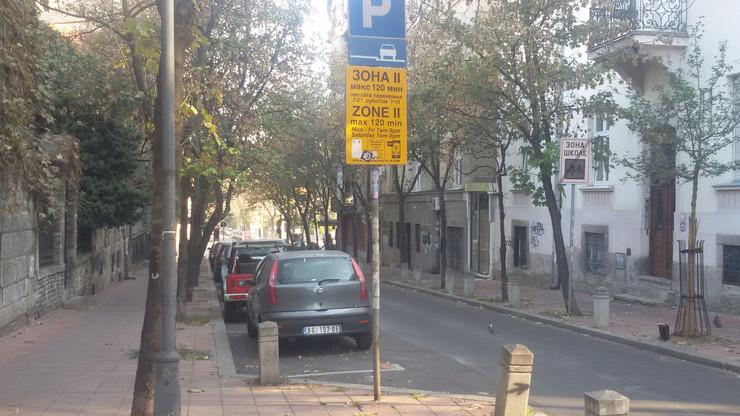 parking zona