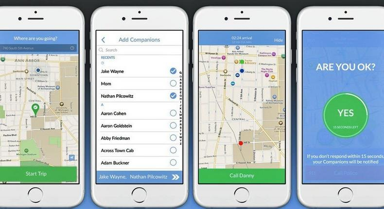 Companion acts as your virtual bodyguard and calls for help when you need it