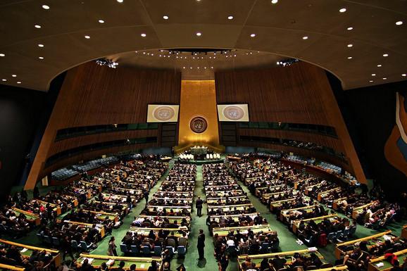 Rusija je glasala protiv Kosova u UN