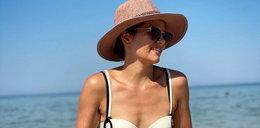 Polska aktorka niedawno urodziła. Pokazała się na plaży w bikini