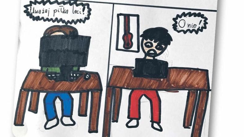 Rysunek wykonała: Ida Hubert, 11 lat
