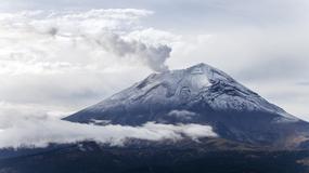 Tajemnicze światła pojawiły po wybuchu wulkanu El Popo