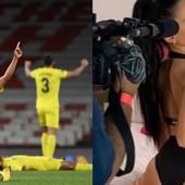 Pozvali zvezdu FILMOVA ZA ODRASLE na finale Lige Evrope! Obožava da se skida, a perverzne slike i snimci su joj na svim društvenim mrežama! /FOTO/