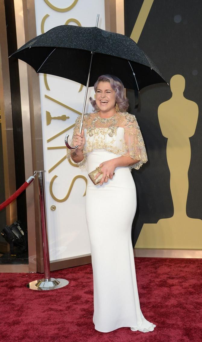 Koliko je Keli Ozborn smršala, pokazuje i fotografija sa dodele Oskara 2014. u Los Anđelesu