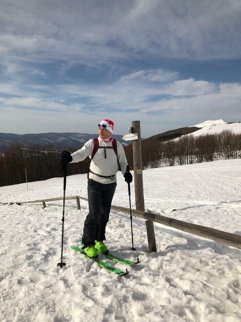 Służbowe wyloty na działkę, do lasu i na narty