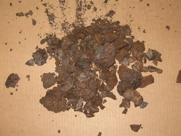 Krhotine gvozdenog Dimitrovgradskog meteorita