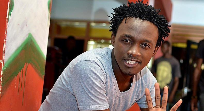 Bahati on the spot as his photos in a club surface online
