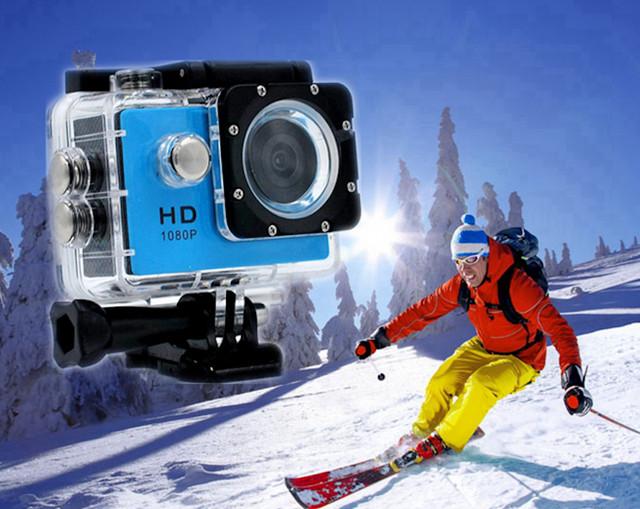 Vodootporna HD DV sportska kamera