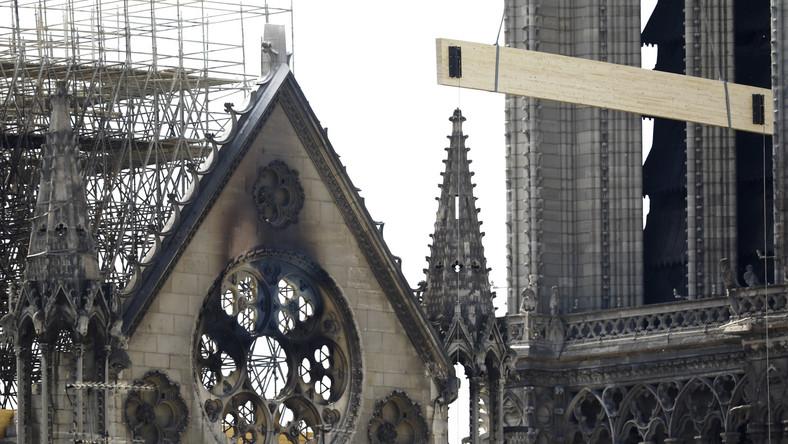 Notre Dame po pożarze