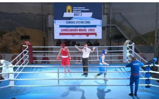 Detalj sa Evropskog prvenstva u boksu