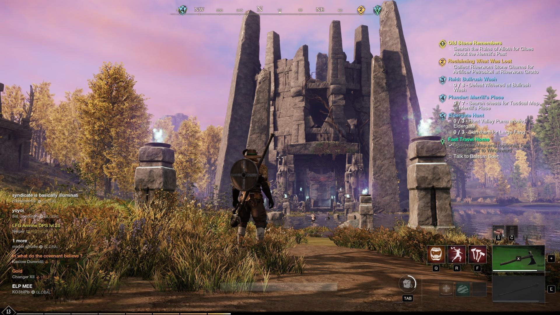 Okrem PvP bojov tu môžeme nájsť aj rôzne jaskyne, hrobky či ruiny plné nebezpečenstiev a pokladov.
