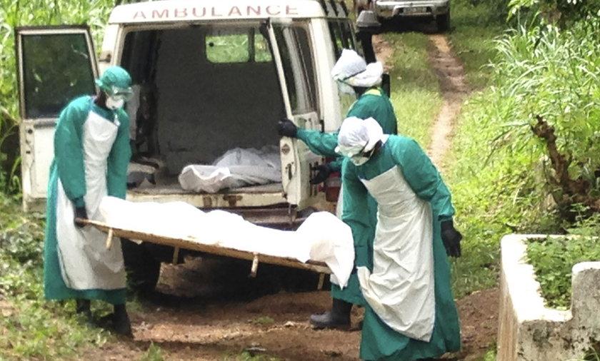 Ebola wymyka się spod kontroli