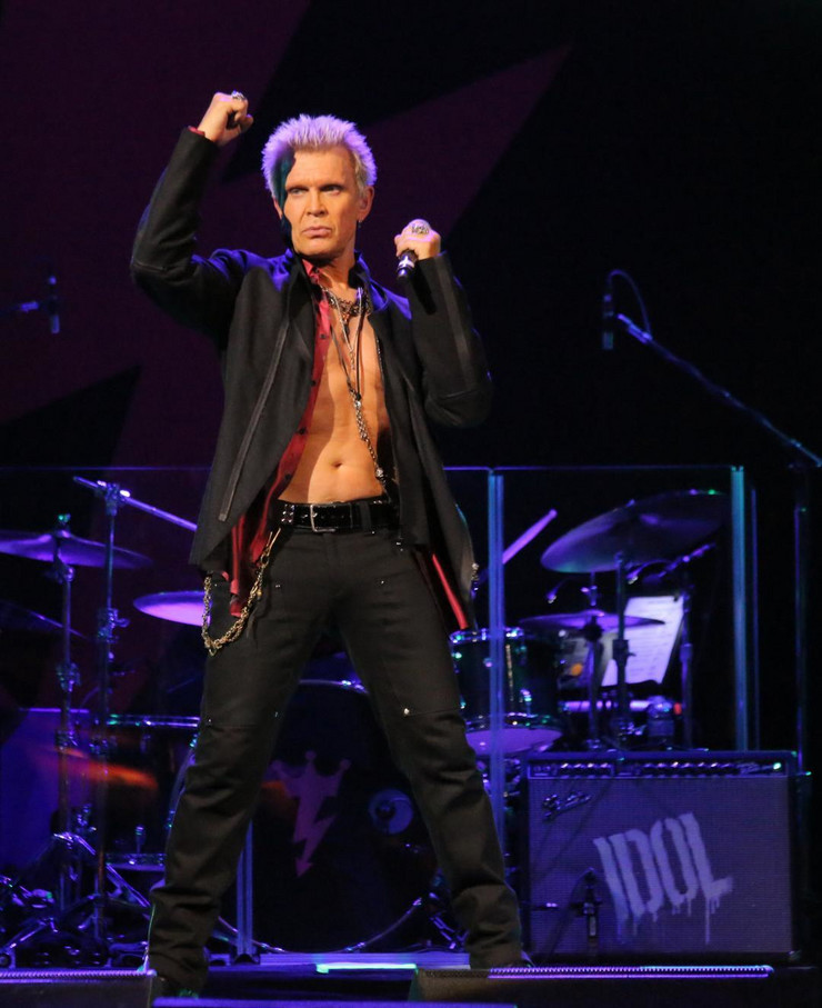 Billy Idol photo by Edison Graff