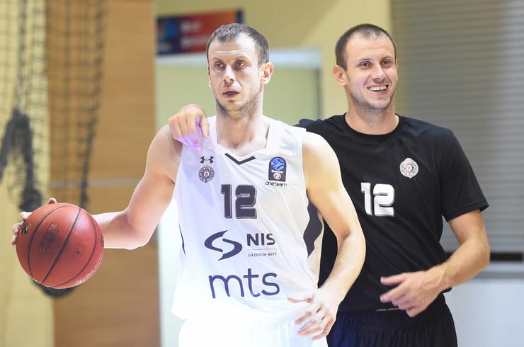 KK Partizan trening Arena