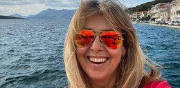 Ewa Wachowicz kisi ogórki na urlopie