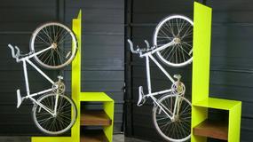 Rzucający się w oczy stojak na rower