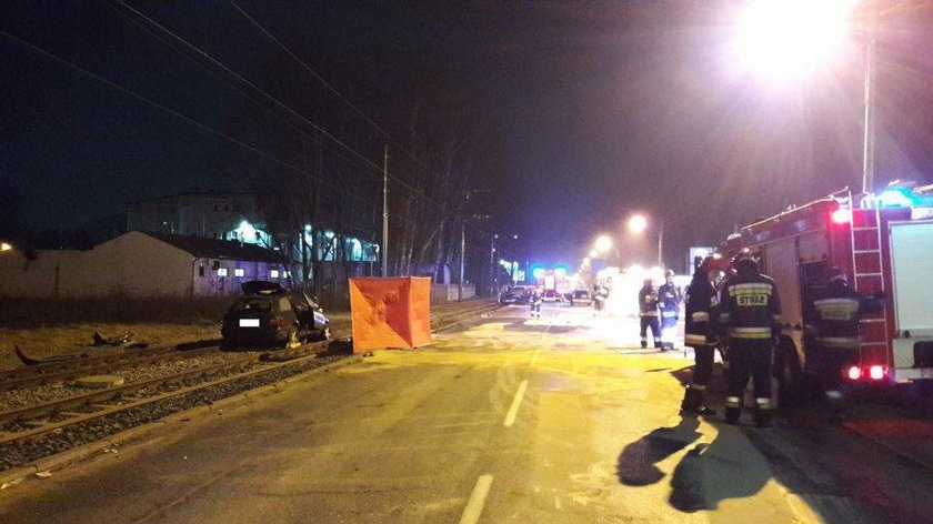 Śmiertelny wypadek na ul. Aleksandrowskiej w Łodzi