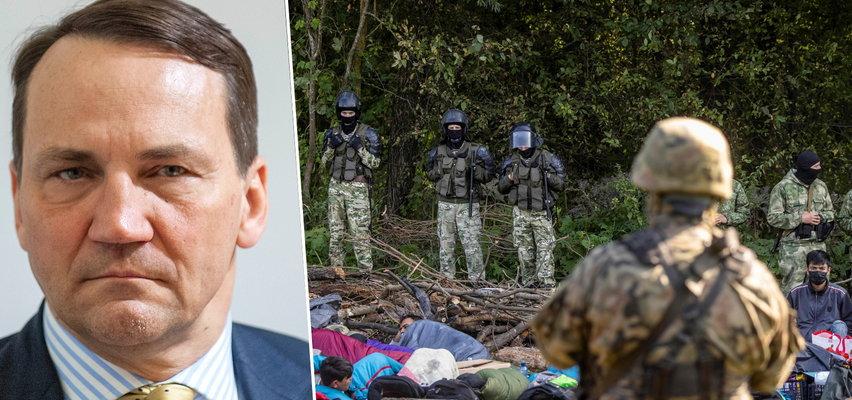 Kryzys na granicy z Białorusią to wojna hybrydowa? Sikorski dla Faktu: Łukaszenka importuje uchodźców za pieniądze