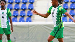 Alex Iwobi starred in the two games against Cameroon (Instagram/Super Eagles)