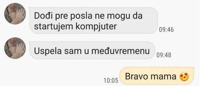 Bravo mama