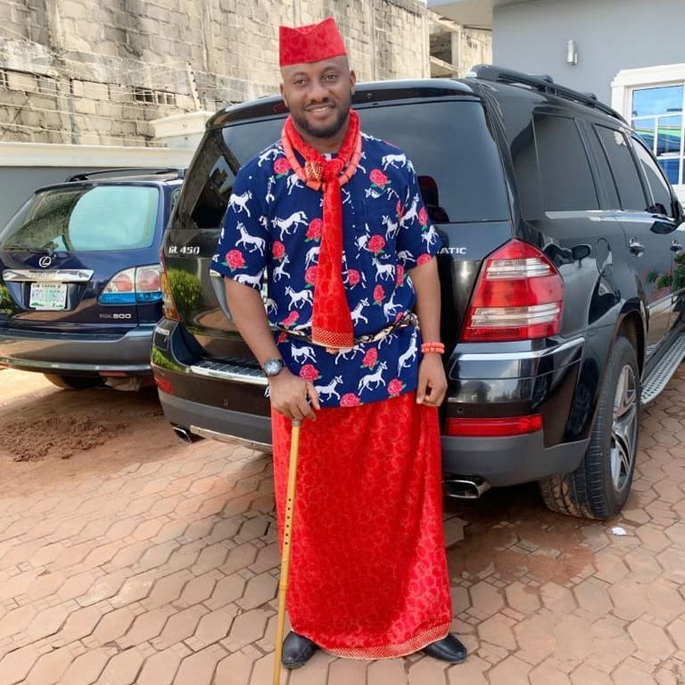Following his involvement in a ghastly car accident about a week ago, Yul Edochie has revealed that he has given his life to Christ [Instagram/YulEdochie]
