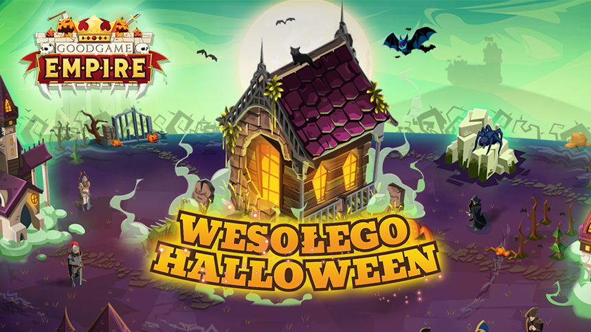 GoodGame Empire - Artwork: Wesołego Halloween!