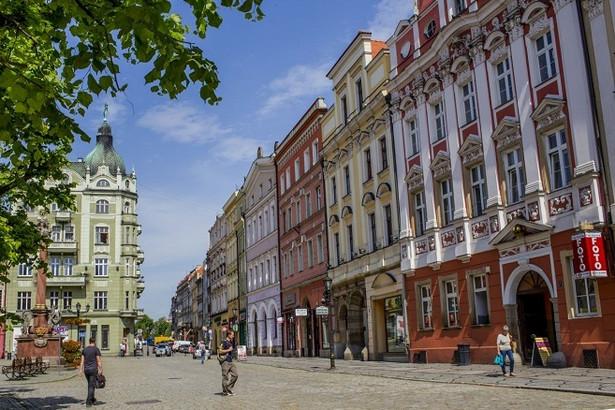 Kamienice w Rynku Starego Miasta