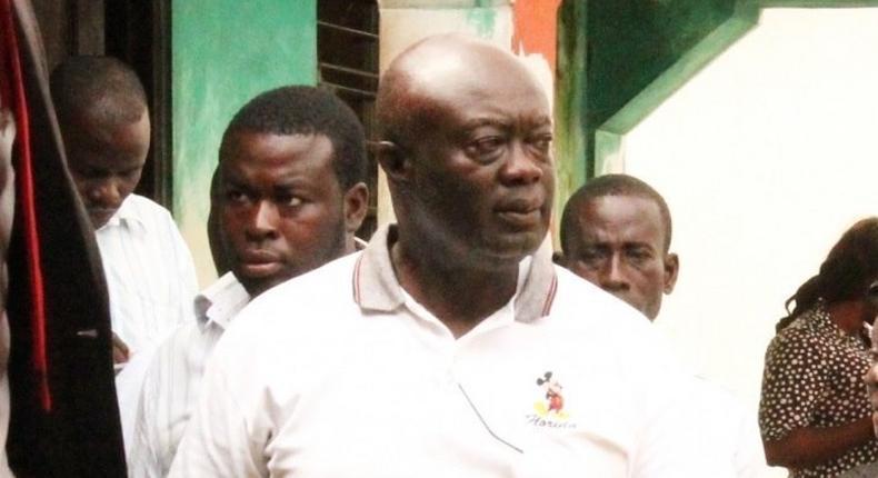Chief Executive of GIHOC Distilleries Limited, Maxwell Kofi Jumah