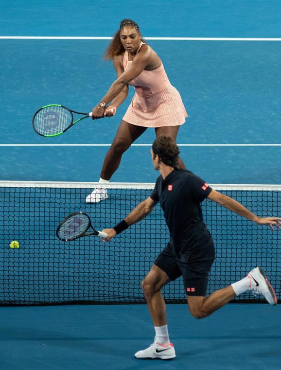 Serena Vilijams i Rodžer Federer