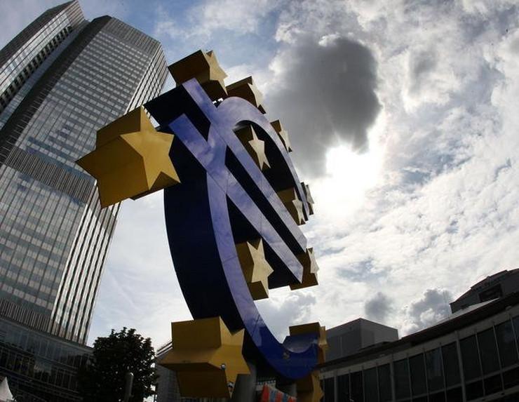 Zgrada Evropske centralne banke u Frankfurtu