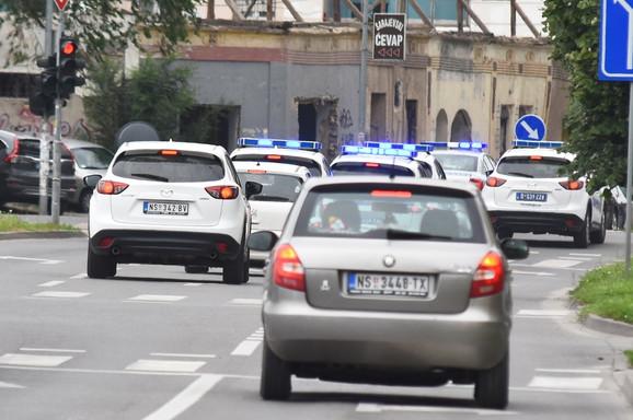 Hapšenje ubice iz Novog Sada