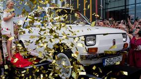 Bielszczanie zobaczyli Fiata 126p, którego otrzyma aktor Tom Hanks