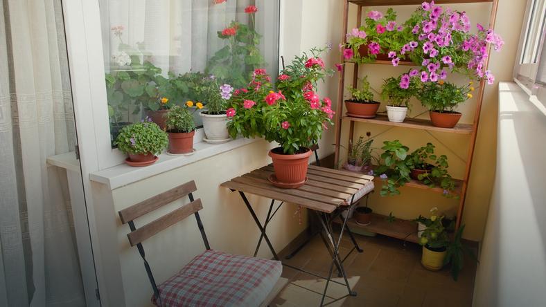 Sprytne Rozwiązania Na Mały Balkon Dom