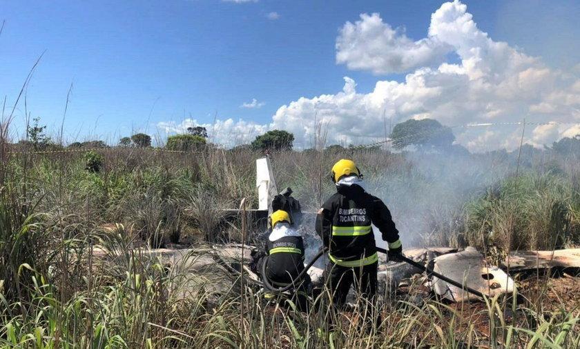 Katastrofa lotnicza z udziałem brazylijskich piłkarzy klubu Palmas