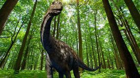 Najwiekszy ruchomy dinozaur świata w Parku Rozrywki Zatorland