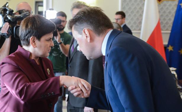 Beata Szydło na posiedzeniu rządu