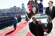 (UŽIVO) PUTINOVA POSETA SRBIJI U toku sastanak Vučića i ruskog predsednika, očekuje se obraćanje (FOTO, VIDEO)