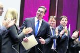 Sns glavni odbor, Zemun, Vučić