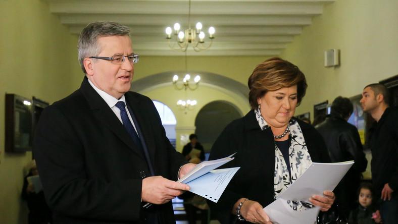 Prezydent wraz z żoną głosowali w warszawskim lokalu wyborczym