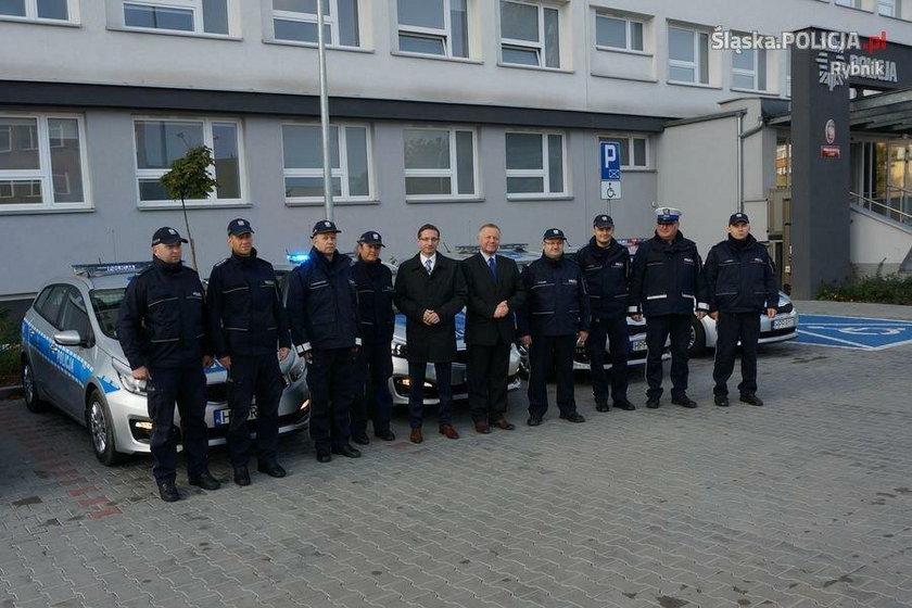 Policjanci z Rybnika mająnowe radiowozy