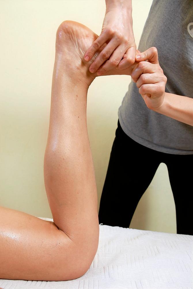 Masaža stopala utiče na celo telo