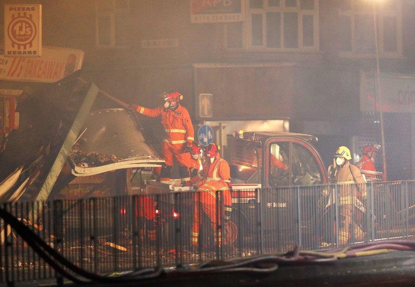 Eksplozja w polskim sklepie w Leicester